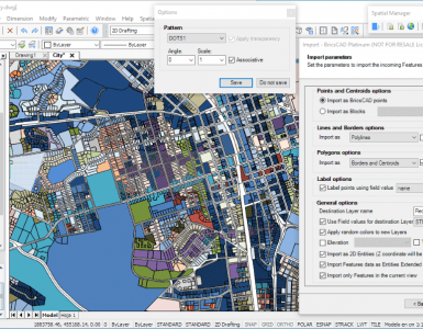 Экспорт из BricsCAD в Google Earth