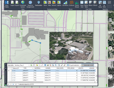 Spatial manager 6.1